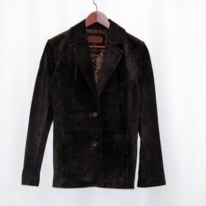 Siena 100% Suede / Leather Blazer / Jacket Size 6